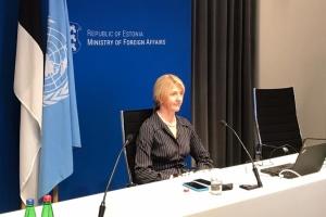 Глава МЗС Естонії підтвердила участь країни у саміті Кримської платформи