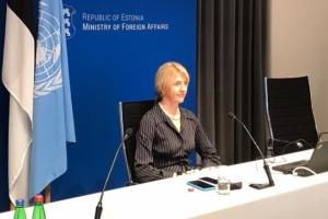 Estnische Außenministerin bestätigt Teilnahme des Landes am Gipfel der Krim-Plattform