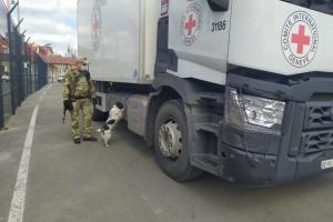 В ОРДЛО привезли три тонны гумгруза с препаратами первой помощи при COVID-19