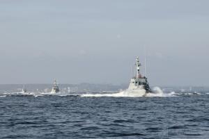 Ukrainische Marine meldet Provokation von russischen Kampfbooten im Asowschen Meer