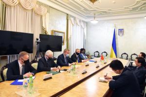 Україна і Китай обговорили розвиток двосторонньої співпраці