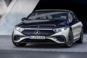 Mercedes-Benz представил флагманский электрокар