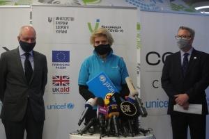В ЮНІСЕФ сказали, коли Україні чекати наступну партію вакцини від COVAX