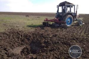 На Донеччині тракторист підірвався на вибухівці