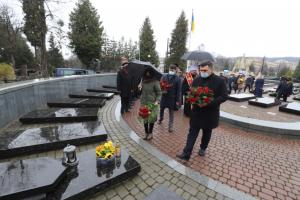 У Львові вшанували пам'ять директора Галереї мистецтв Бориса Возницького