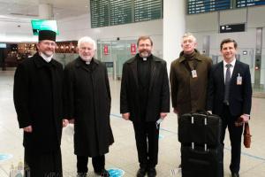 Amtseinführung des neuen Apostolischen Exarchen für Deutschland und Skandinavien: Großerzbischof Schewtschuk in München eingetroffen
