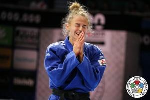 Дарья Белодед выиграла «серебро» на чемпионате Европы по дзюдо в Португалии
