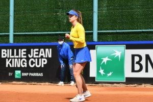 Ukrainerinnen besiegen Japan im Wettbewerb Billy Jean King Cup