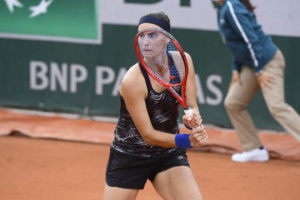 Украинка Ангелина Калинина вышла в полуфинал турнира ITF в Португалии