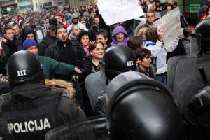 У столиці Боснії й Герцеговині люди вимагали вакцин та посилення карантину