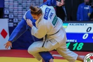 Українська дзюдоїстка Каланіна стала п'ятою на чемпіонаті Європи у Португалії