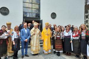 Oberhaupt der Ukrainischen Griechisch-Katholischen Kirche führt neuen apostolischen Exarchen in Deutschland und Skandinavien in sein Amt ein