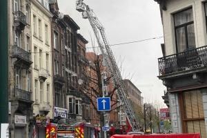 Біля Брюсселя сталася масштабна пожежа, понад 20 осіб – у лікарні