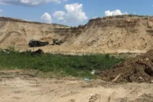 Справу про незаконний видобуток піску у Бортничах передали до суду