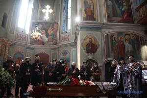 Kyjiw: Trauerfeier für Schriftsteller Wolodymyr Jaworiwskyj