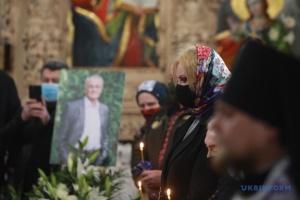 У Києві попрощалися з письменником і політиком Володимиром Яворівським
