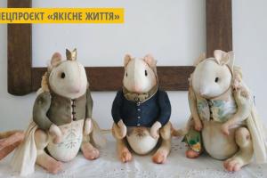Львівська майстриня шиє іграшки з вживаних тканин