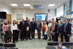 Бібліотеці в Мінську передали видання Конституції Пилипа Орлика білоруською мовою