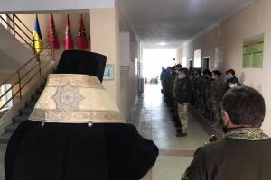 Відслужили панахиду за загиблим у зоні ООС бійцем «Закарпатського легіону»