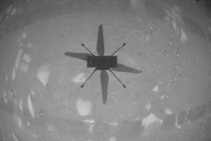 NASA вперше запустила гелікоптер на Марсі