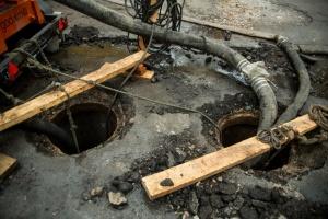 Сьомий за тиждень порив колектора: три населені пункти на Харківщині - без води