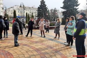 У Вінниці батьки школярів вимагали скасувати «дистанційку»