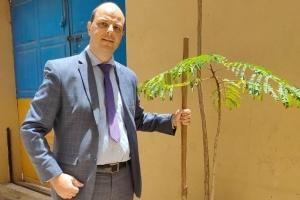 Посольство України в Сенегалі долучилося до проєкту «Озеленення планети»