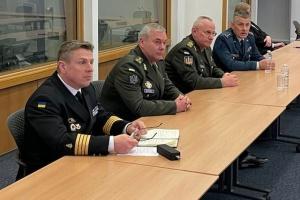 Україна та  Британія співпрацюватимуть на рівні оперативних штабів Збройних сил