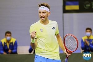 Стаховський переміг на старті турніру ATP Challenger Tour у Римі