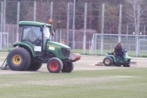 ФК «Динамо» розпочав реконструкцію полів на клубній базі