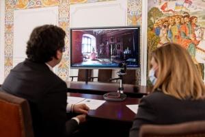 За ініціативи Олени Зеленської у Музеї національної історії Данії з'явився україномовний аудіогід