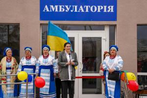 На Чернігівщині звели амбулаторію на 80 пацієнтів