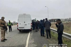 Поліція відпустила півсотні «тітушок», затриманих під Харковом
