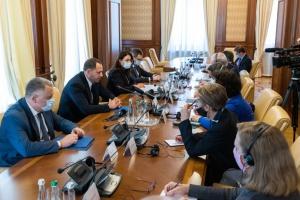 Єрмак говорив з послами G7 про встановлення миру на Сході, оновлення КСУ та реформи