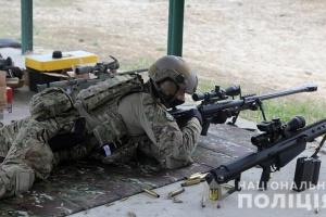 Поліцейські Києва пройшли навчання в обстановці, наближеній до бойової