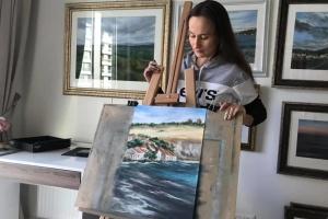 У Гамбурзі відкриють виставку картин двох українських художниць