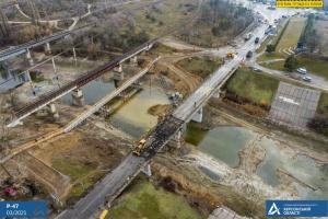 На Херсонщині триває реконструкція мосту через Північно-Кримський канал