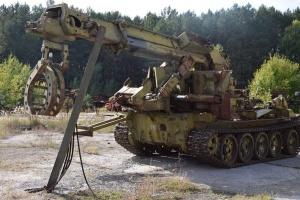 У Прип'яті до роковин Чорнобильської катастрофи відкриють виставку техніки