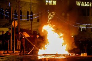У Єрусалимі пройшли масові сутички між євреями й палестинцями - є постраждалі