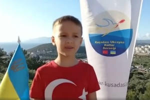 Маленькі українці-діаспоряни записали відеопривітання до Дня дітей в Туреччині