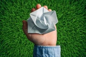 Як журавлики в Японії: у Славутичі створили квітку-символ відродження після аварії на ЧАЕС