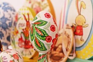 В Ужгородському скансені на Великодній виставці показали пів тисячі писанок