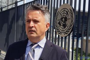 Вопреки уставу ООН представители Москвы сидят в Совбезе за табличкой «Россия» - Кислица