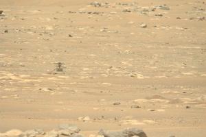 У вертолета Ingenuity начались сложности из-за смены времен года на Марсе
