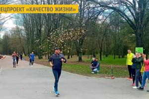 Черниговец Павел Деркач пробежал свой сотый марафон