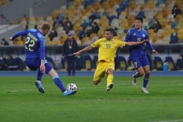 WM-Qualifikation: Drittes Remis der Ukraine in Folge