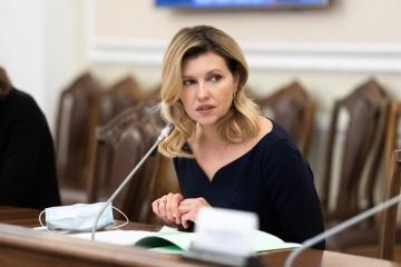 Primera dama de Ucrania comparte consejos para comunicarse con personas con autismo