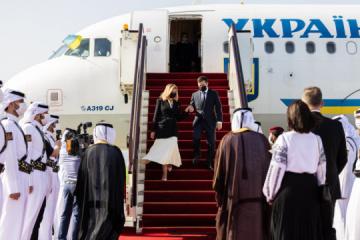 Ukraine views Qatar as key partner in Gulf region, Arab world - Zelensky