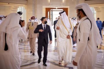 Selenskyj: Beziehungen mit Katar werden neue Ebene erreichen