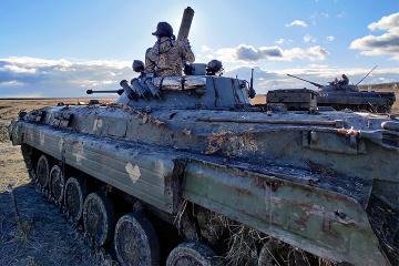 Siete violaciones del alto el fuego, dos soldados ucranianos muertos